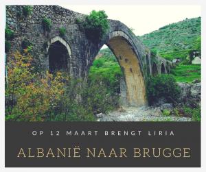 Liria brengt Albanië naar Brugge