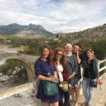 Albaniëreis Mesi's brug Shkodër